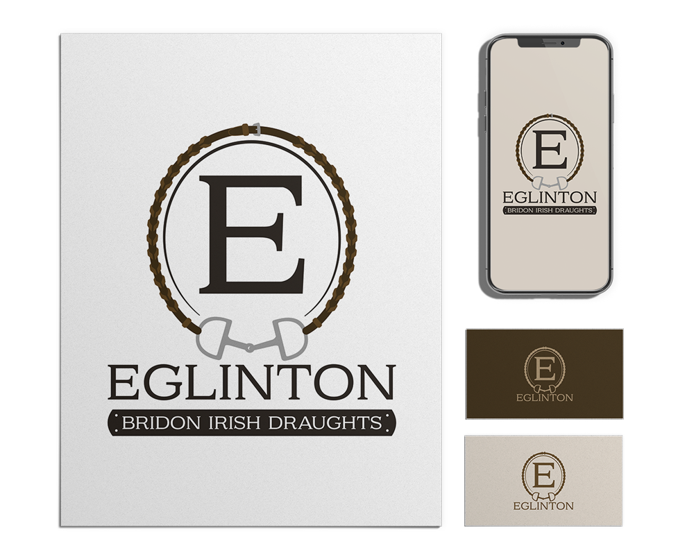 Four-Color Equestrian Logo